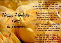 Happy Mothers Day in Heaven Image Miss You Mom Picture