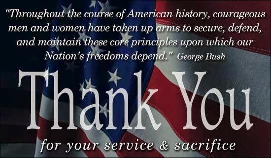 Memorial Day Thank You Quotes - Thank You for your Service & Sacrifice